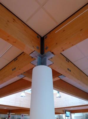 Bibliotheek boven winkels beuningen egbert van dijk architecten bv - Model bibliotheek houten ...